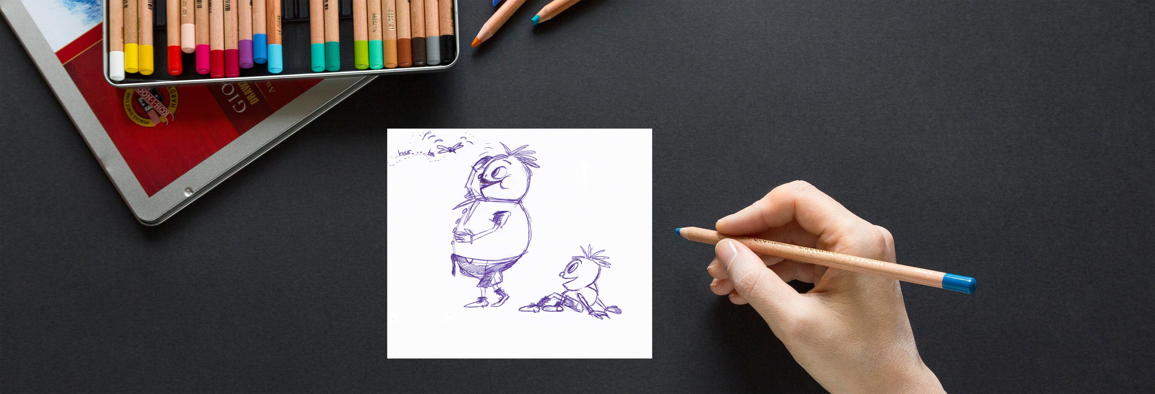 content expertin Sketchnotes